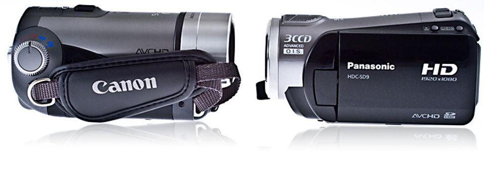 TEST: Canon HF100 vs. Panasonic SD9