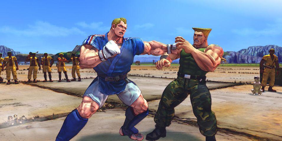 Street Fighter IV til tre formater