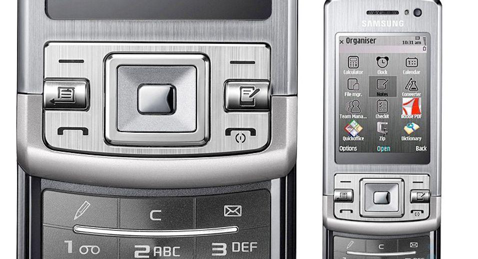 L870 blir en av Samsungs mest avanserte S60-telefoner.