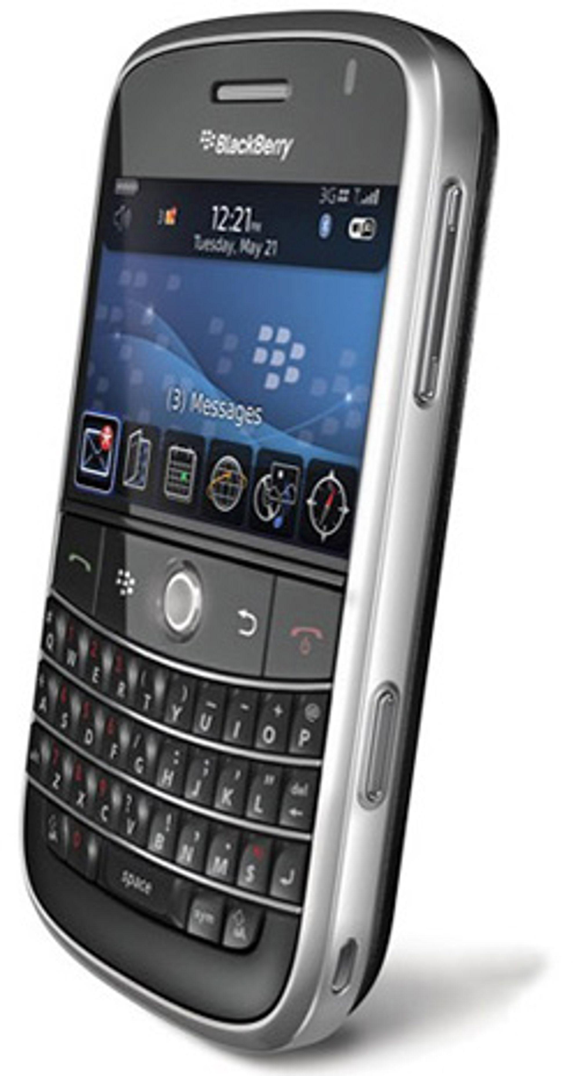 Blackberry Bold. (Foto: RIM)
