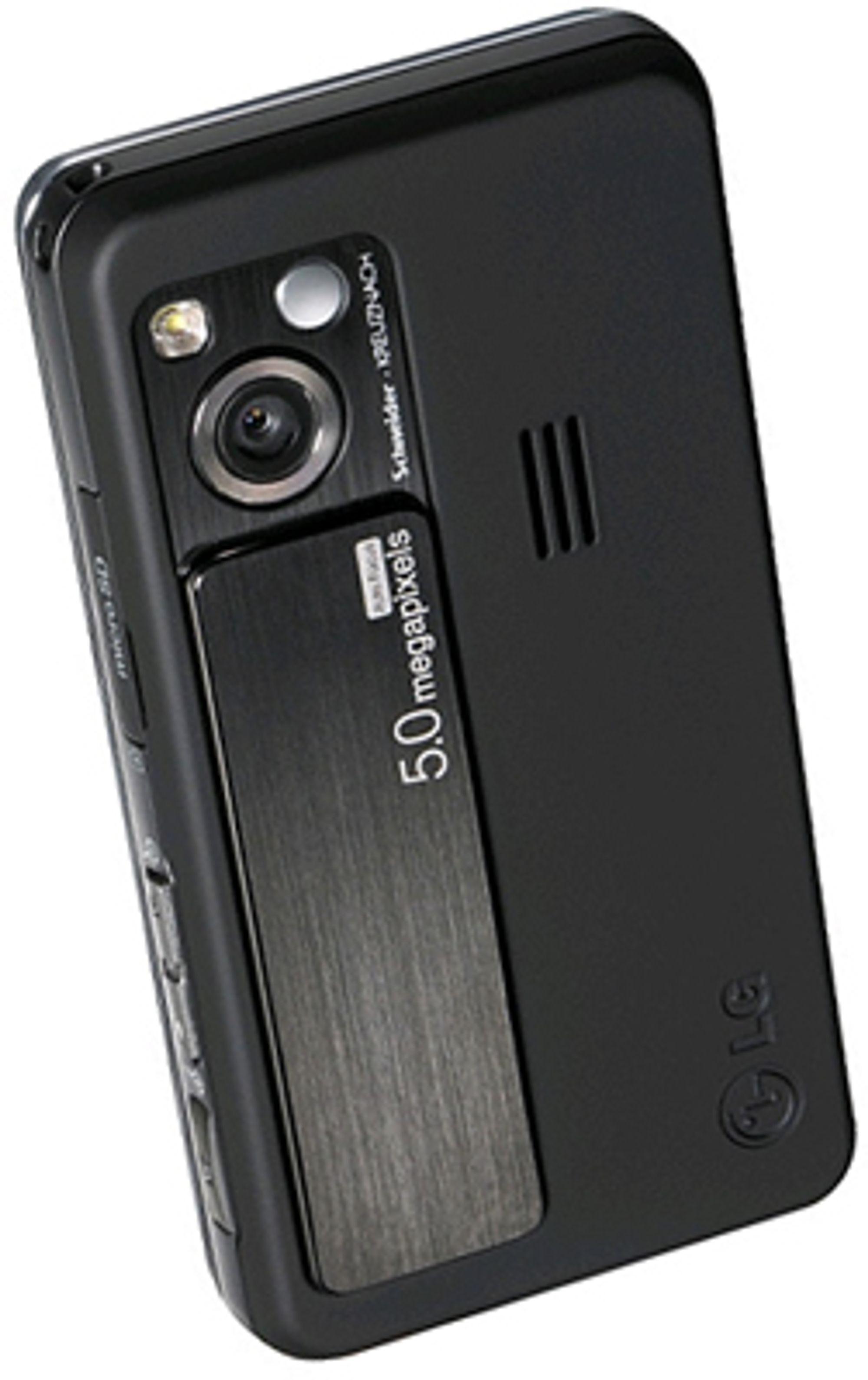 Kameraet beskyttes av et deksel.