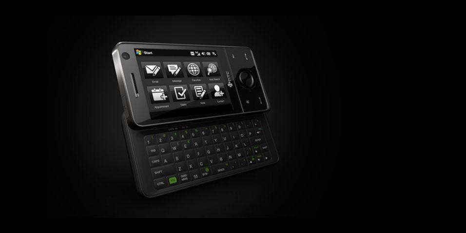 Touch Pro er en ekte smarttelefon.
