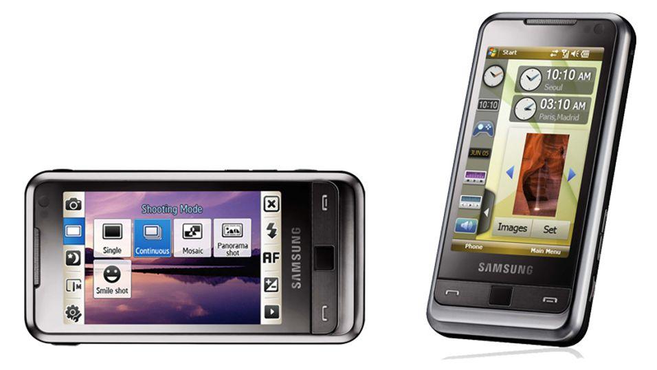 Samsungs nye telefon vrir skjermbildet så snart du snur på telefonen.