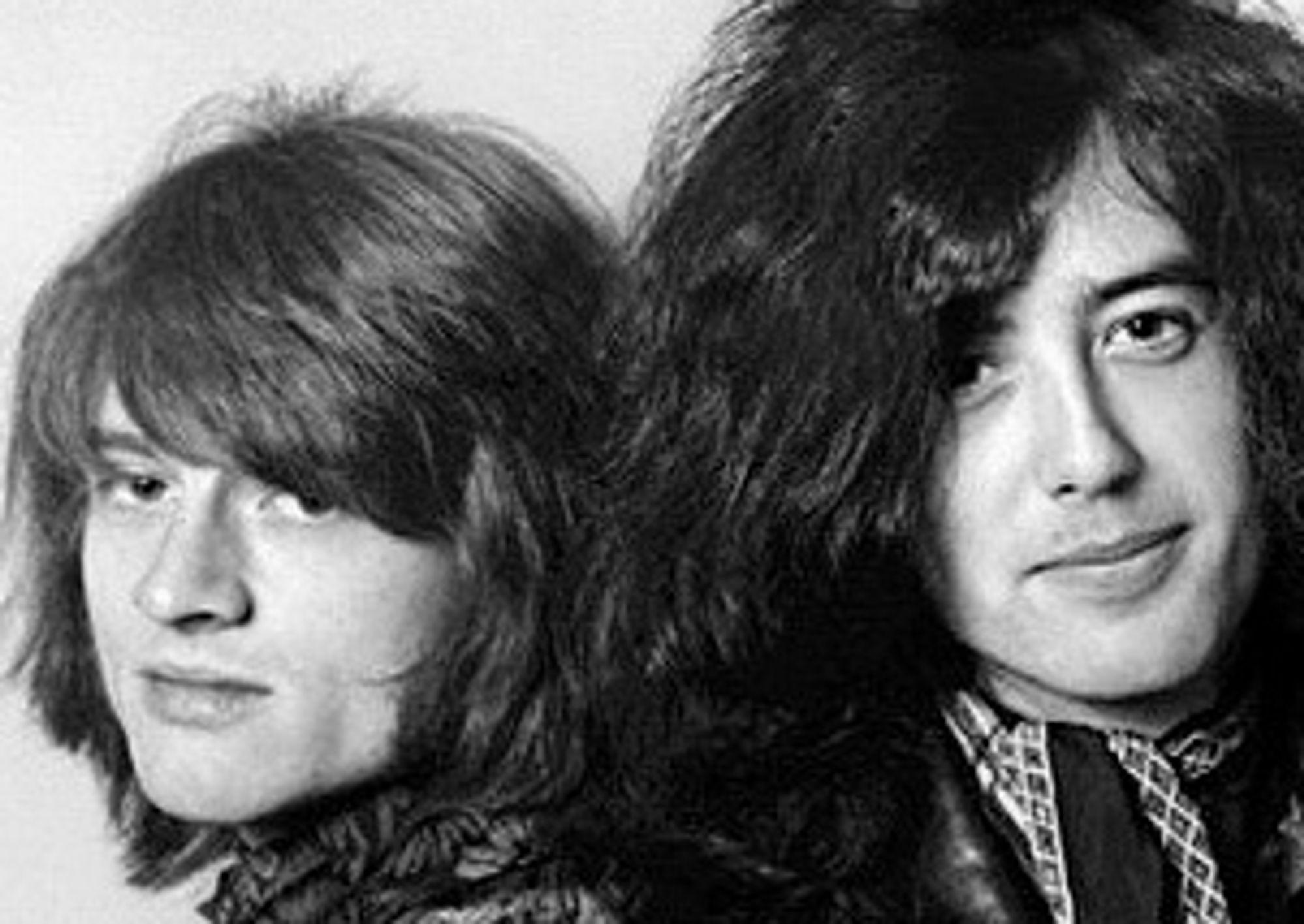 John Paul Jones og Jimmy Page beriket Foo Fighters-publikum med sanger fra Led Zeps storhetstid.