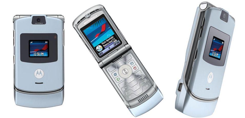 Motorola V3 ble utviklet med en tilfeldighet på Moto Labs.