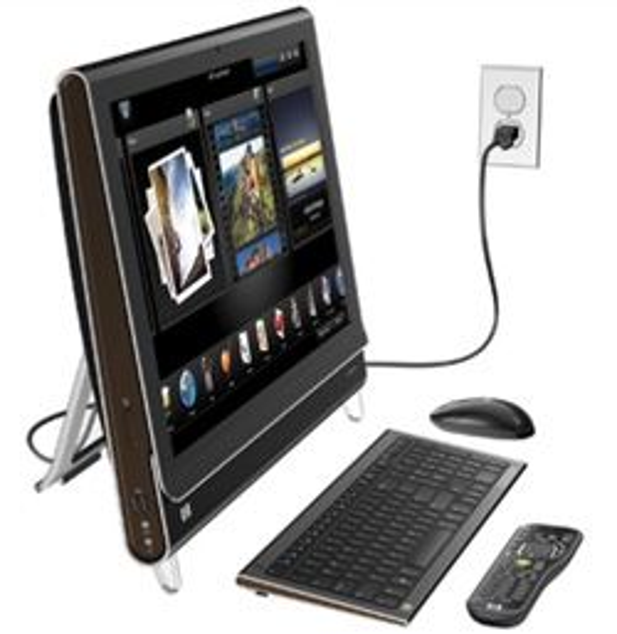 HPs nye maskin har PC-en bygget inn i skjermen. (Foto: HP)