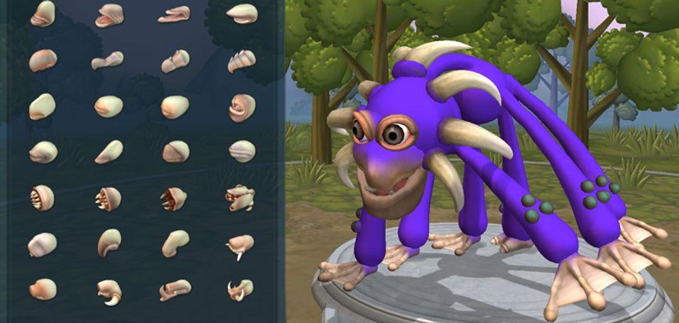 Spore Creature Creator er ute