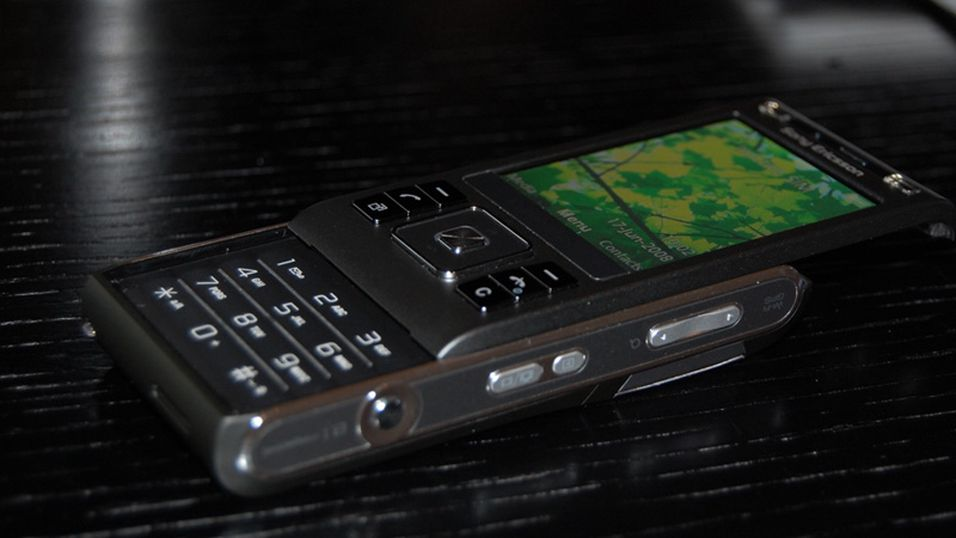 C905i er litt tykk, men til fordel for et heftig kamera.
