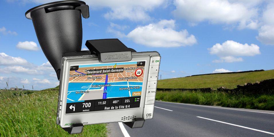 Mediaspilleren får GPS