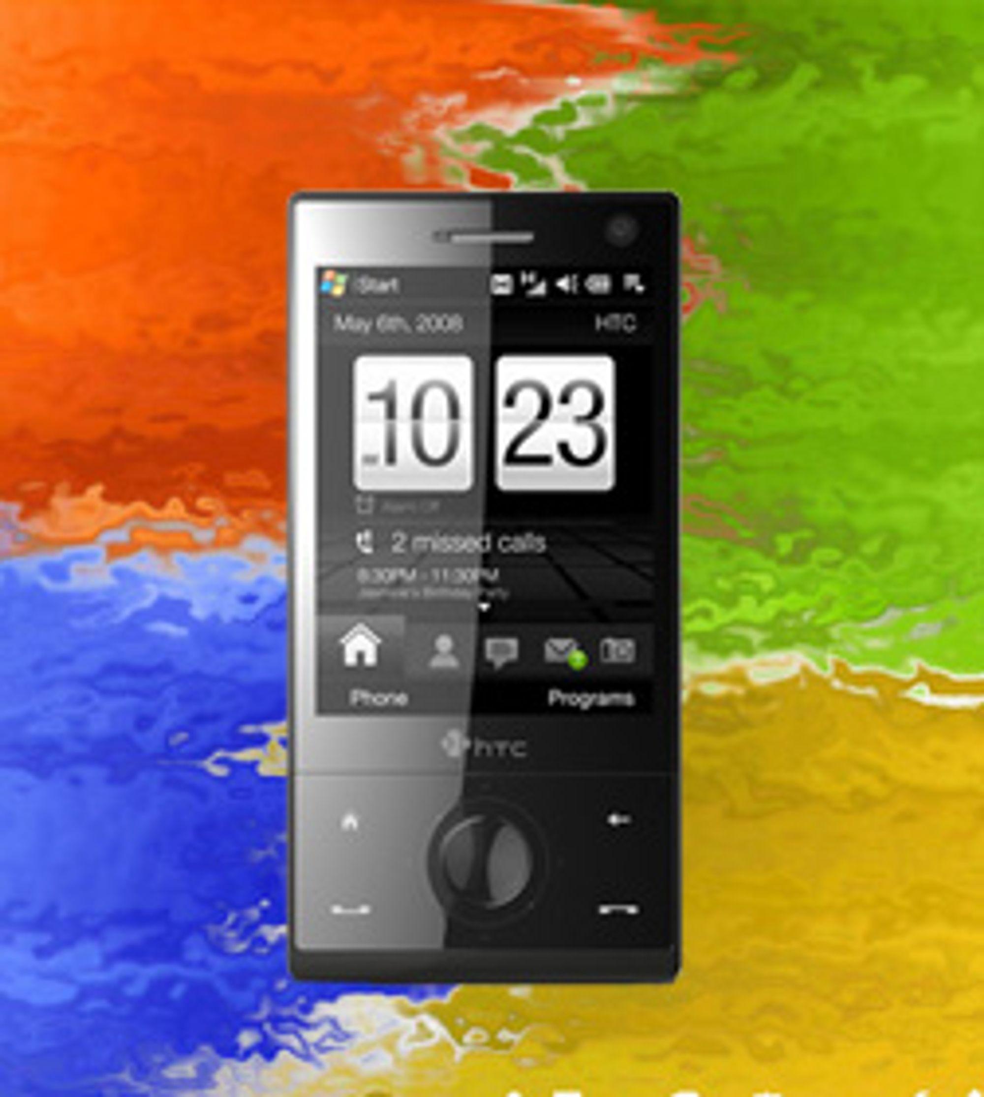 Touch Diamond kan bli blant de siste HTC-telefonene som kjører Windows Mobile 6.1.