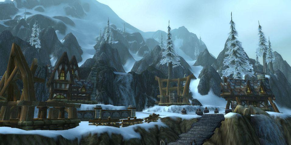 Blizzard islegger nettside
