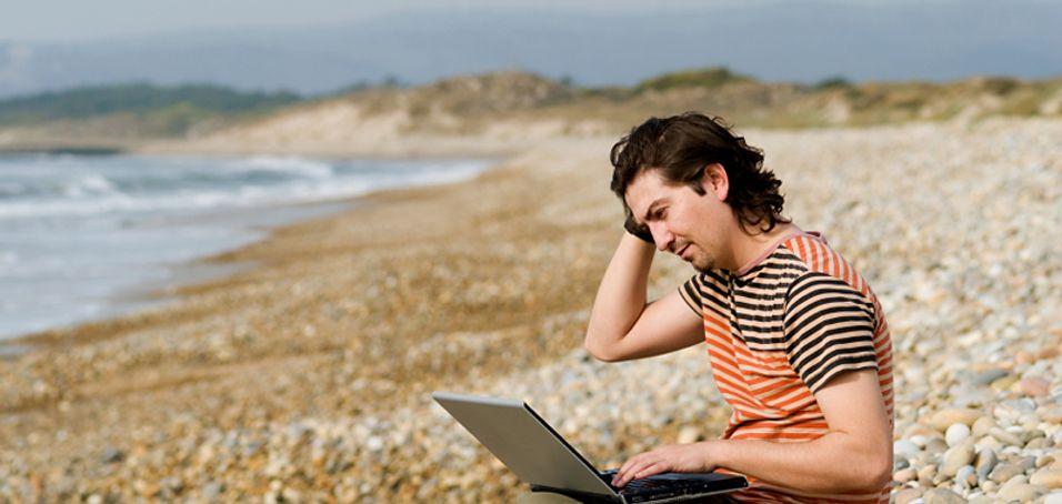 Ingenting er som å surfe trådløst på ferie - nå for 100 kr dagen.
