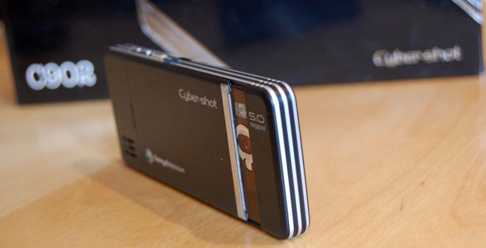 Førsteinntrykk: Sony Ericsson C902