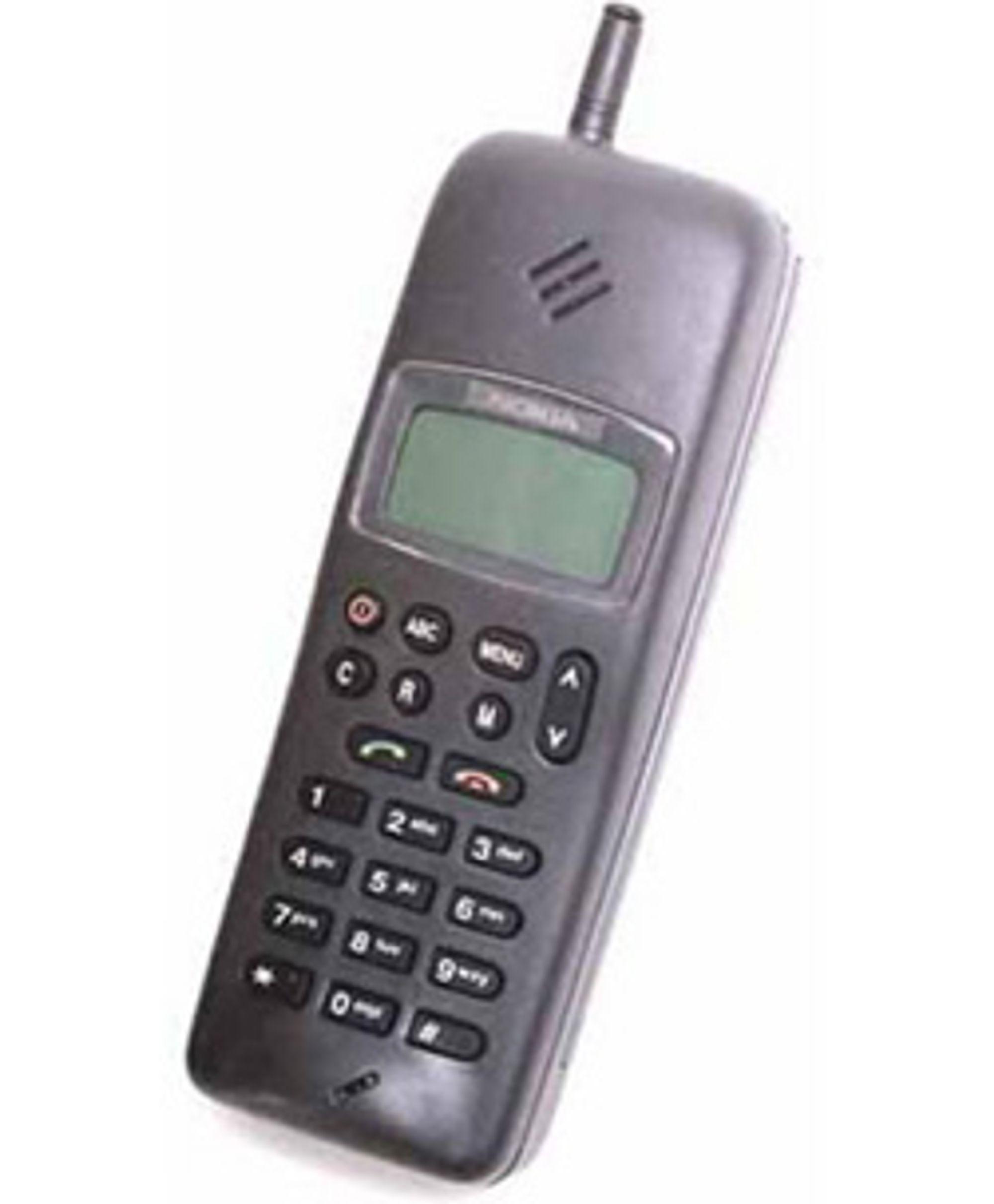Nokia 1011 var Nokias første masseproduserte GSM-telefon.