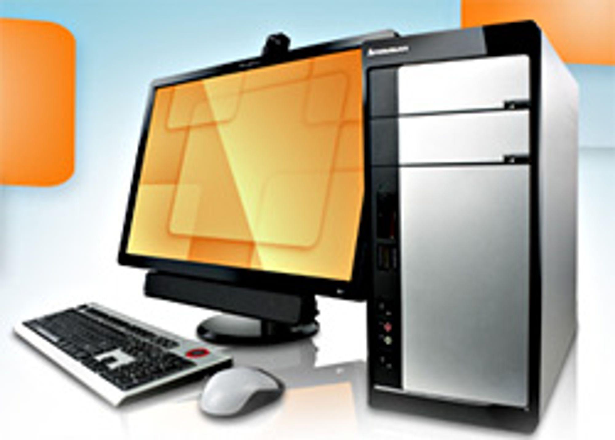Lenovos nye stasjonære. (Foto: Skjermskudd fra Lenovo.com)