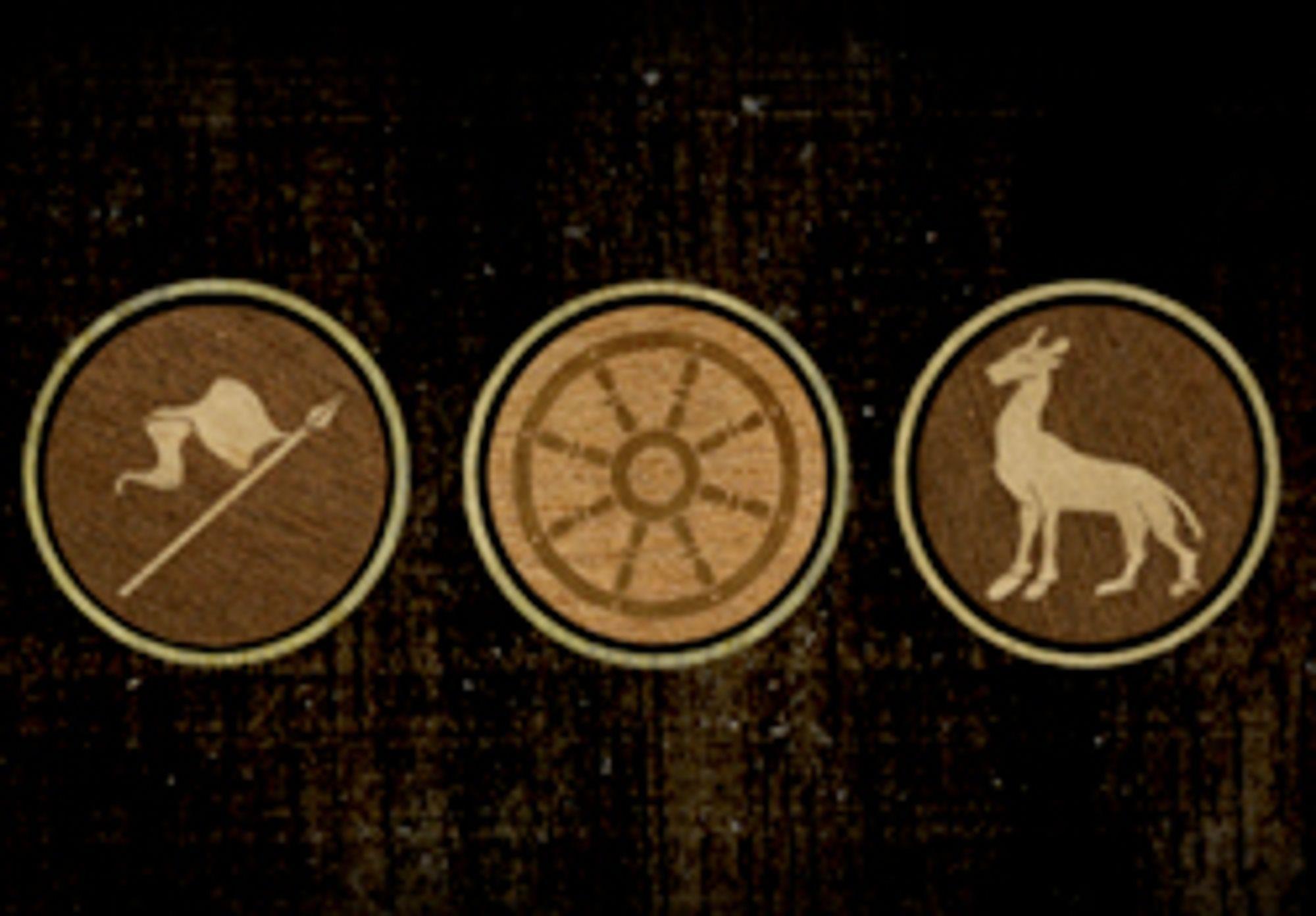Tre like symboler trengs for å åpne nettsiden.