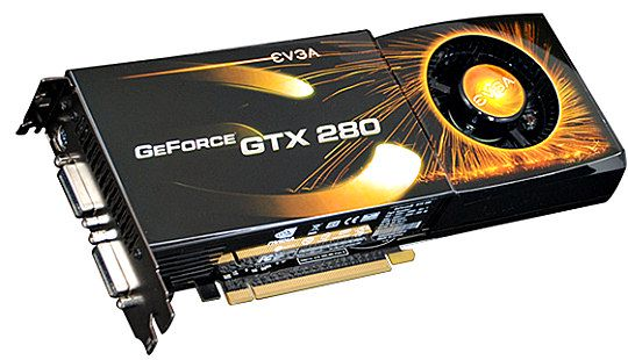 Geforce GTX 280 fra EVGA
