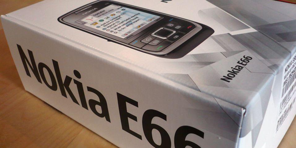 Førsteinntrykk: Nokia E66
