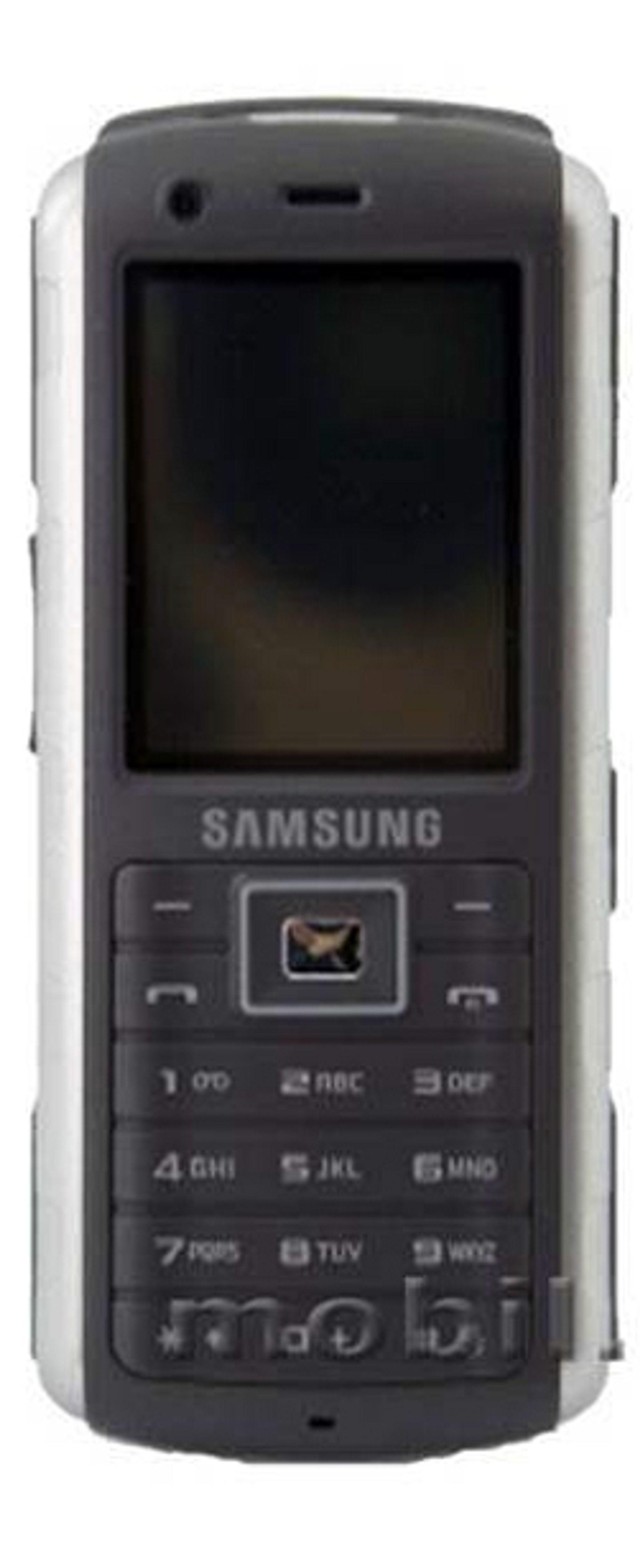 Samsung GT-B2700 er laget for å tåle en smell.