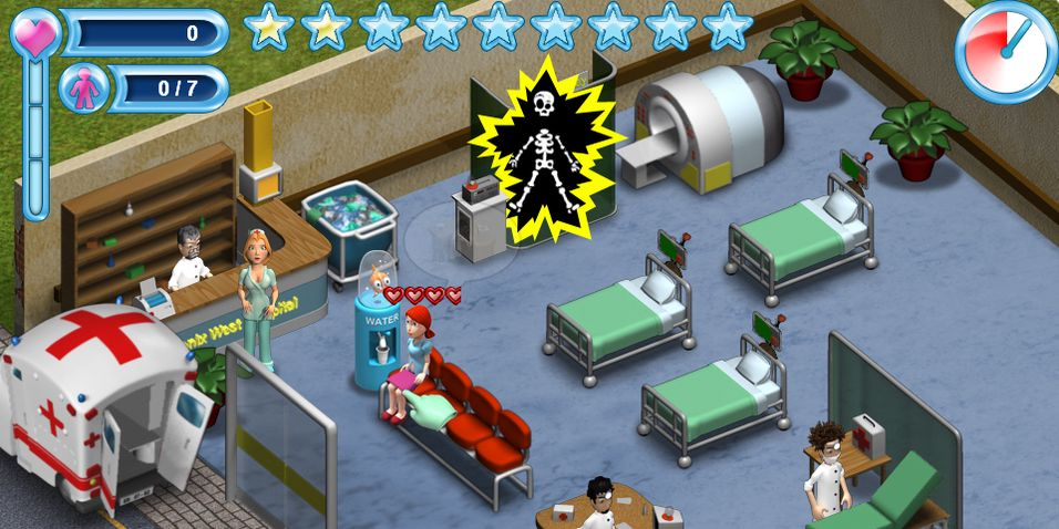 Kaos på sykehus