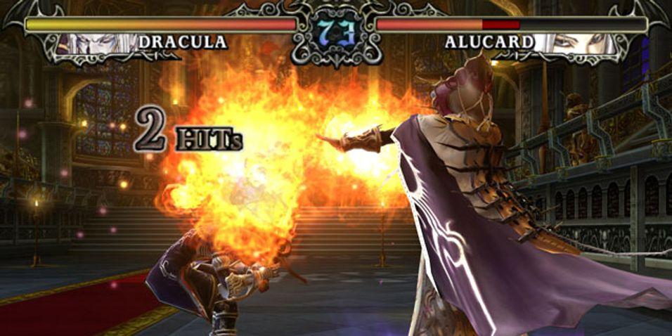 Dracula i slåsskamp