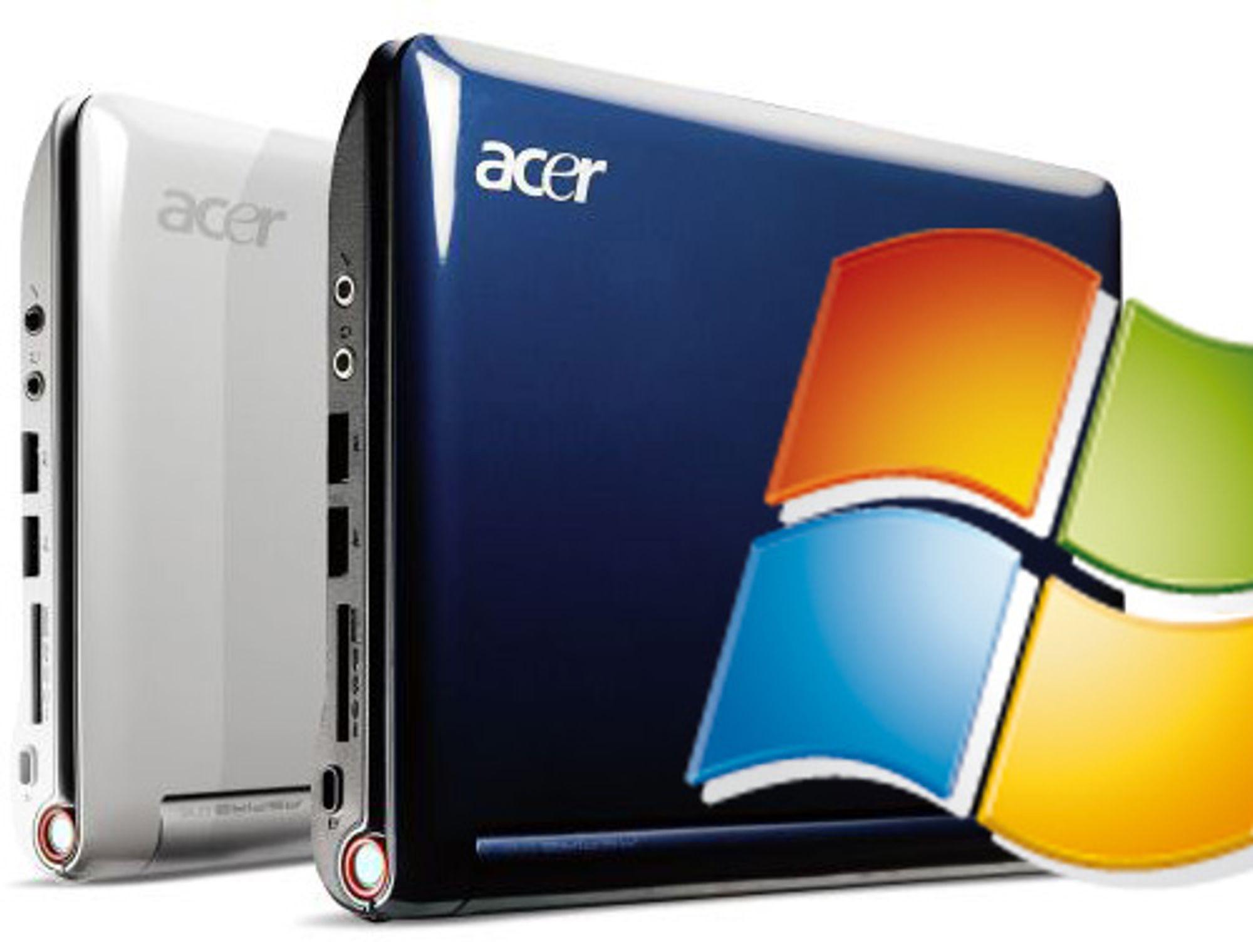 Acer med Windows