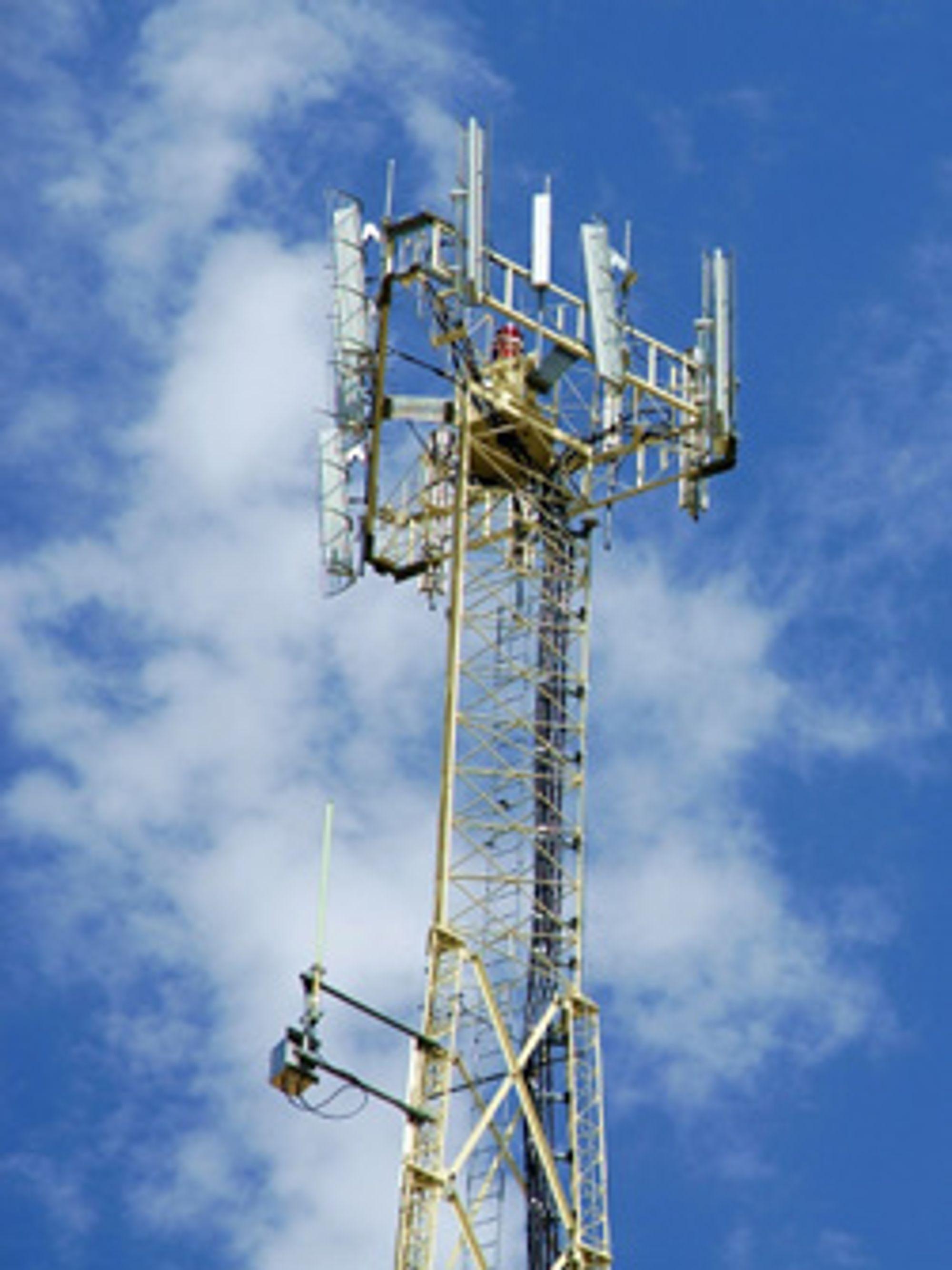 VNL reduserer effektbruken i GSM-antenner med 96 - 98,3 prosent. (Foto: Christian Weibell / Istockphoto)