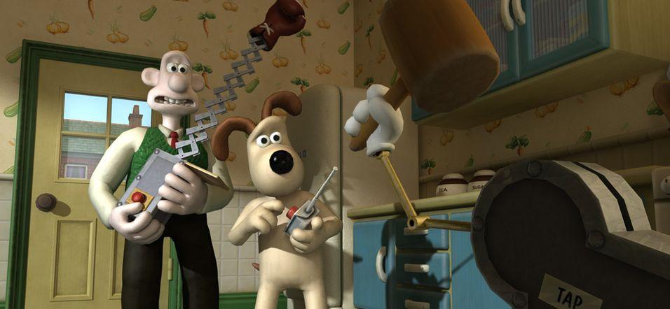 Wallace & Gromit på nye eventyr