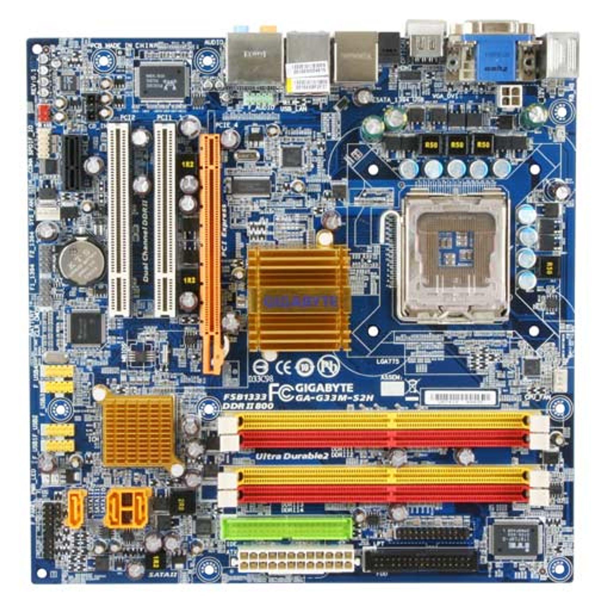 Illustrasjonsbilde: G33-basert fra Gigabyte
