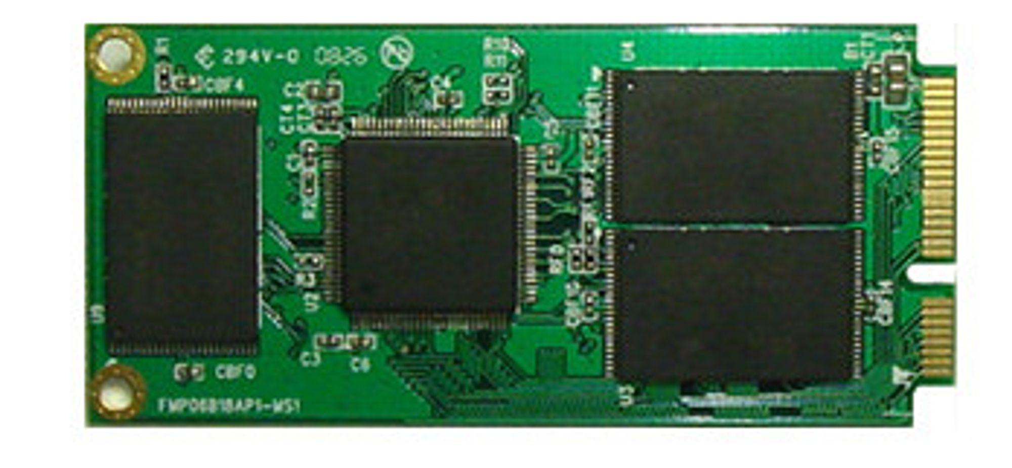 Prototype på Buffalos 32 GB SSD
