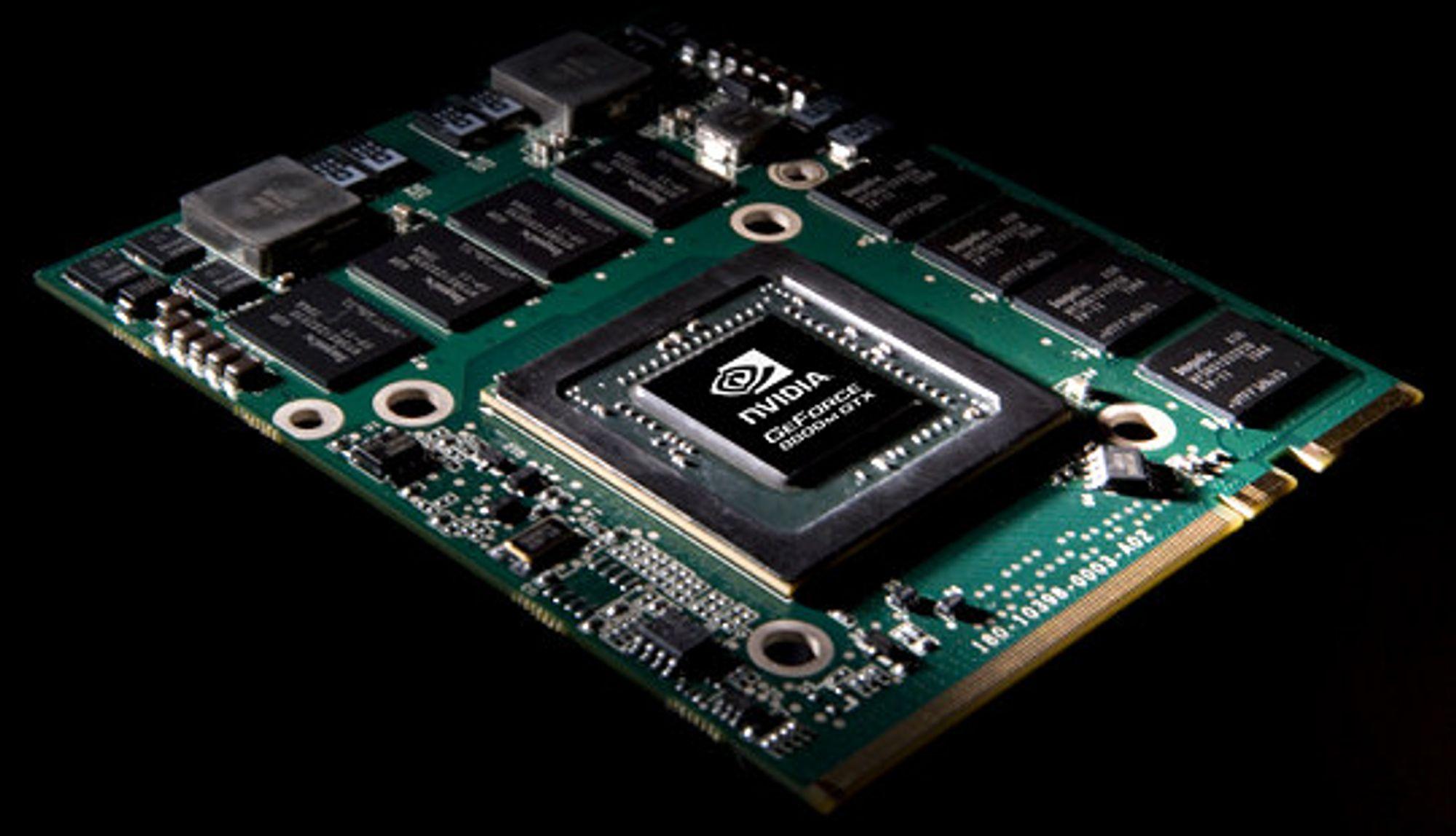 Illustrajonsbilde: Geforce 8800M GTX