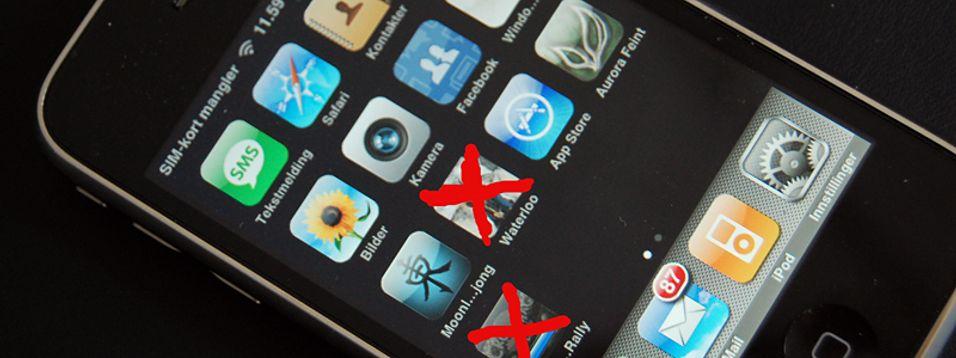 Stemmer påstanden, kan Apple fjerne innhold fra mobilen din mot din vilje.