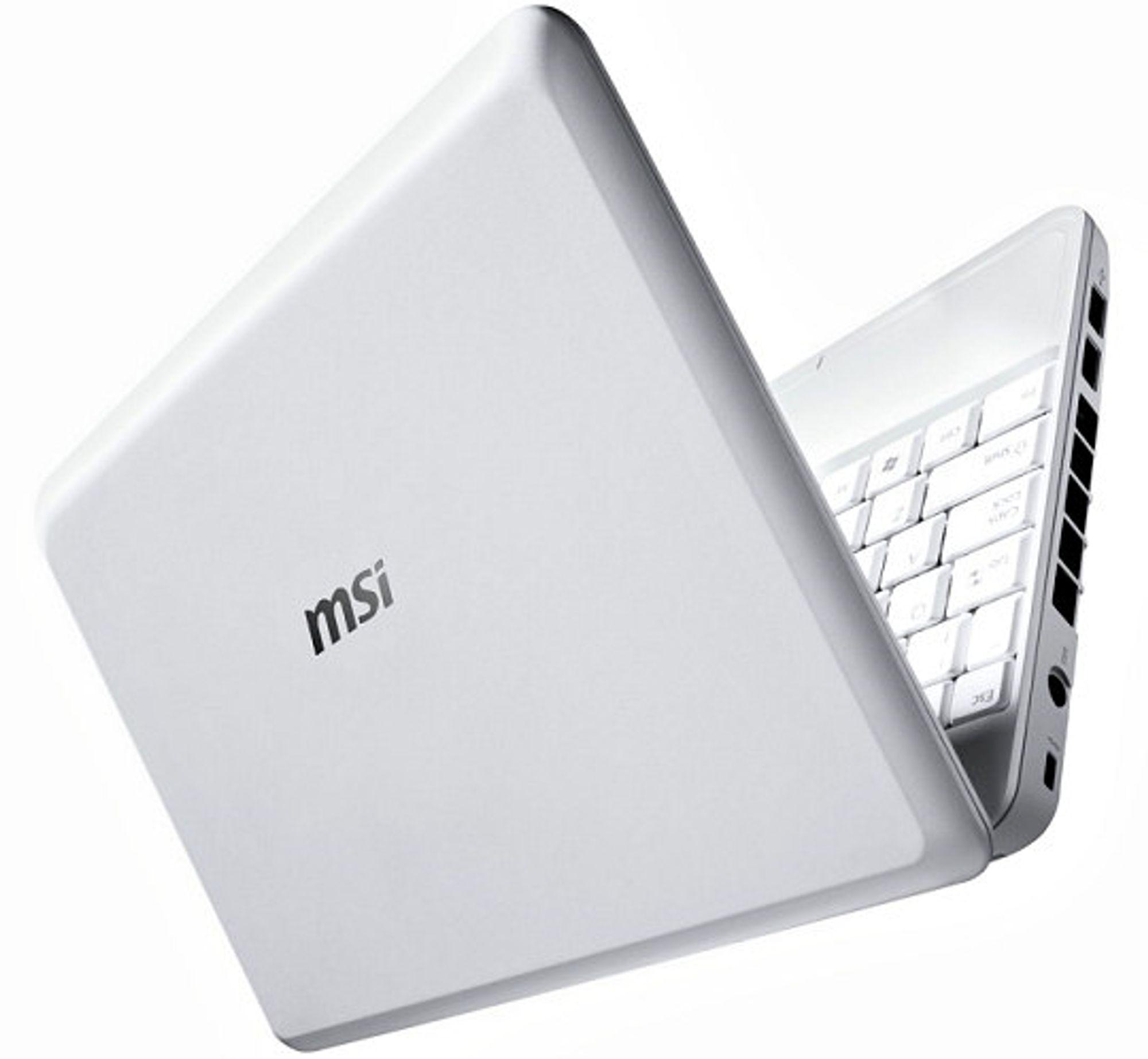 Nå i rimeligere utgave: MSI Wind PC