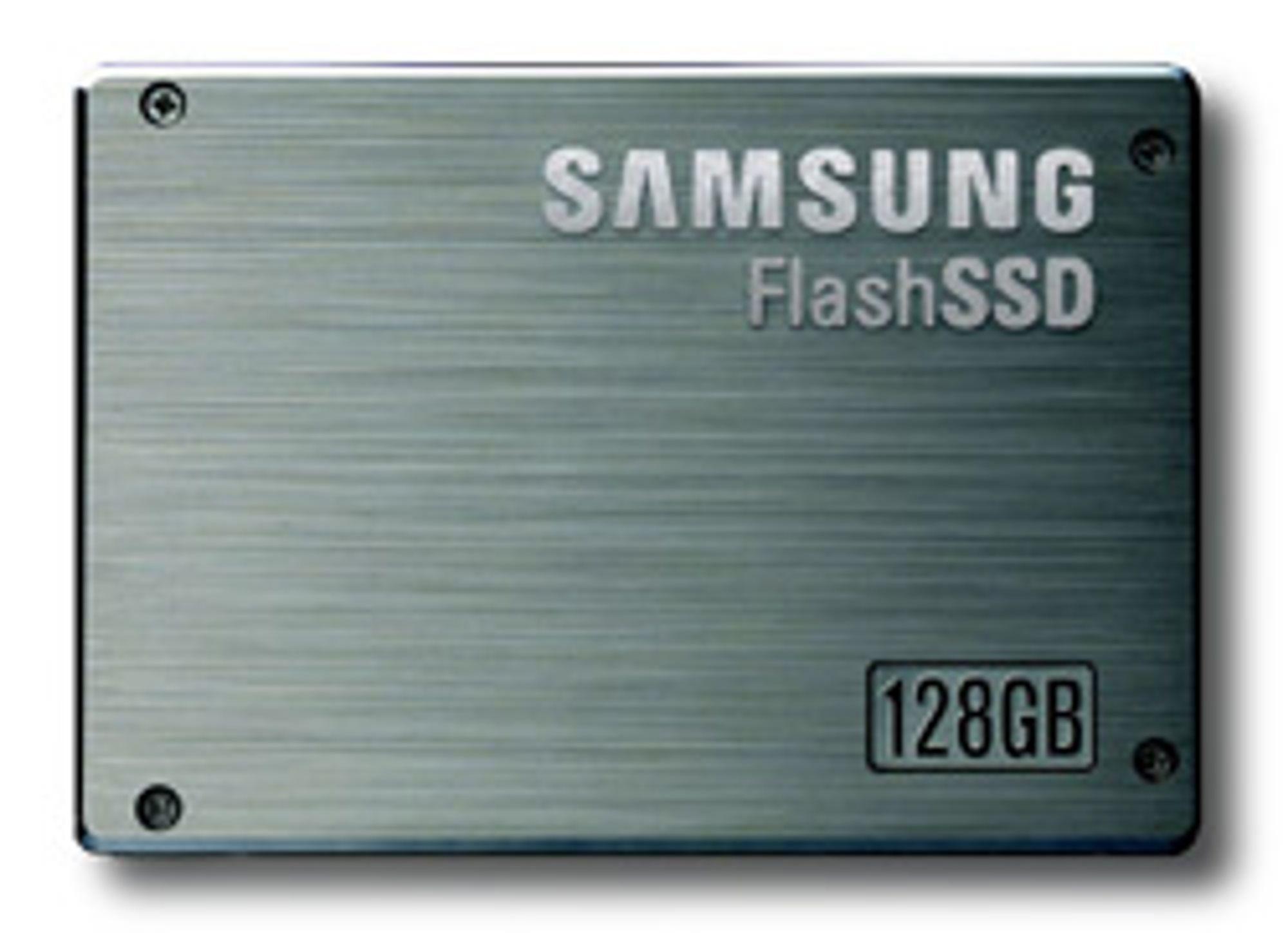 SSD kan bli bedre under Vista. (Foto: Samsung)