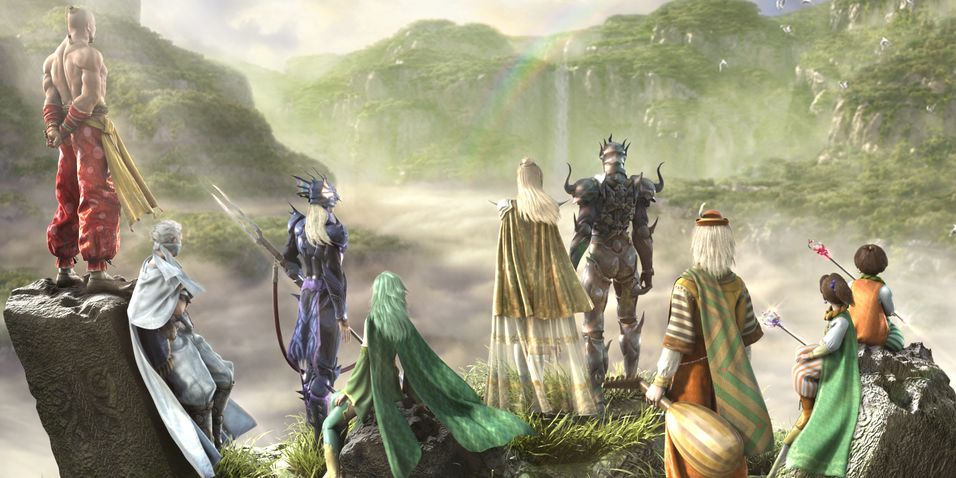 Final Fantasy IV i september