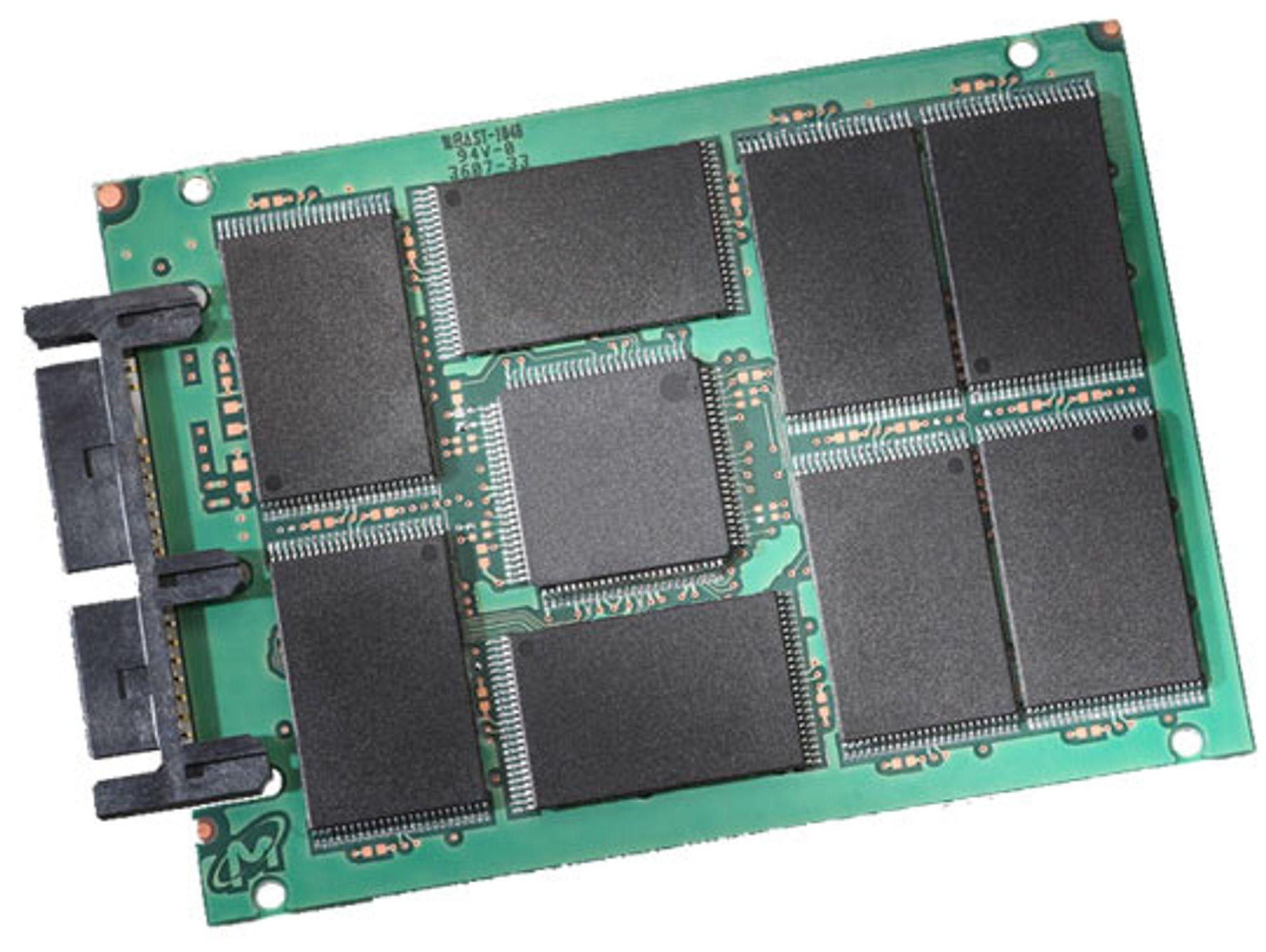 Blant annet Micron kan bruke Barefoot i SSD-enhetene sine. Foto: Micron