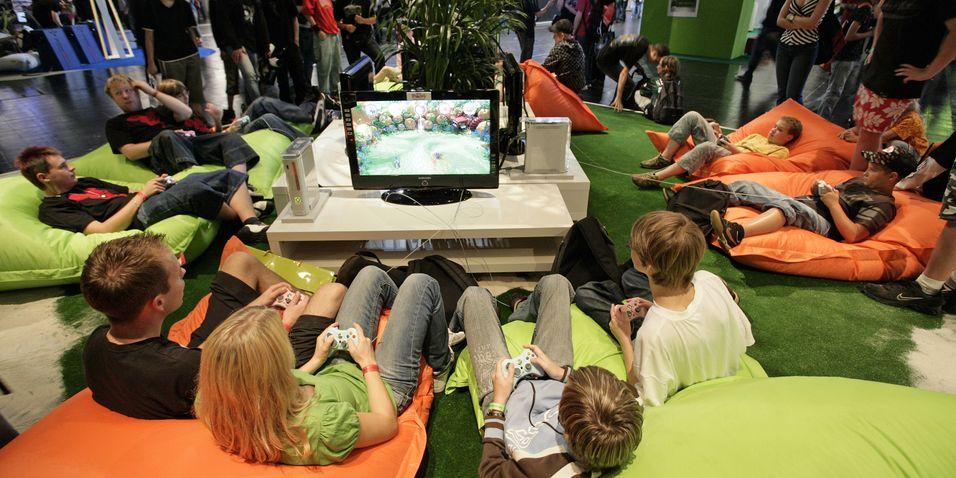 Spillene på Games Convention 2008