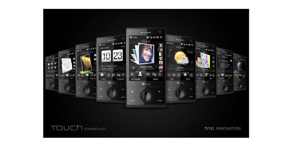 Diamond er en av de mest omtalte HTC-modellene.