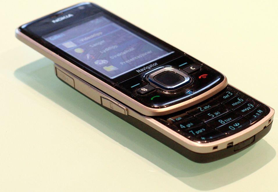 Nokia 6210 Navigator er en smarttelefon med GPS.