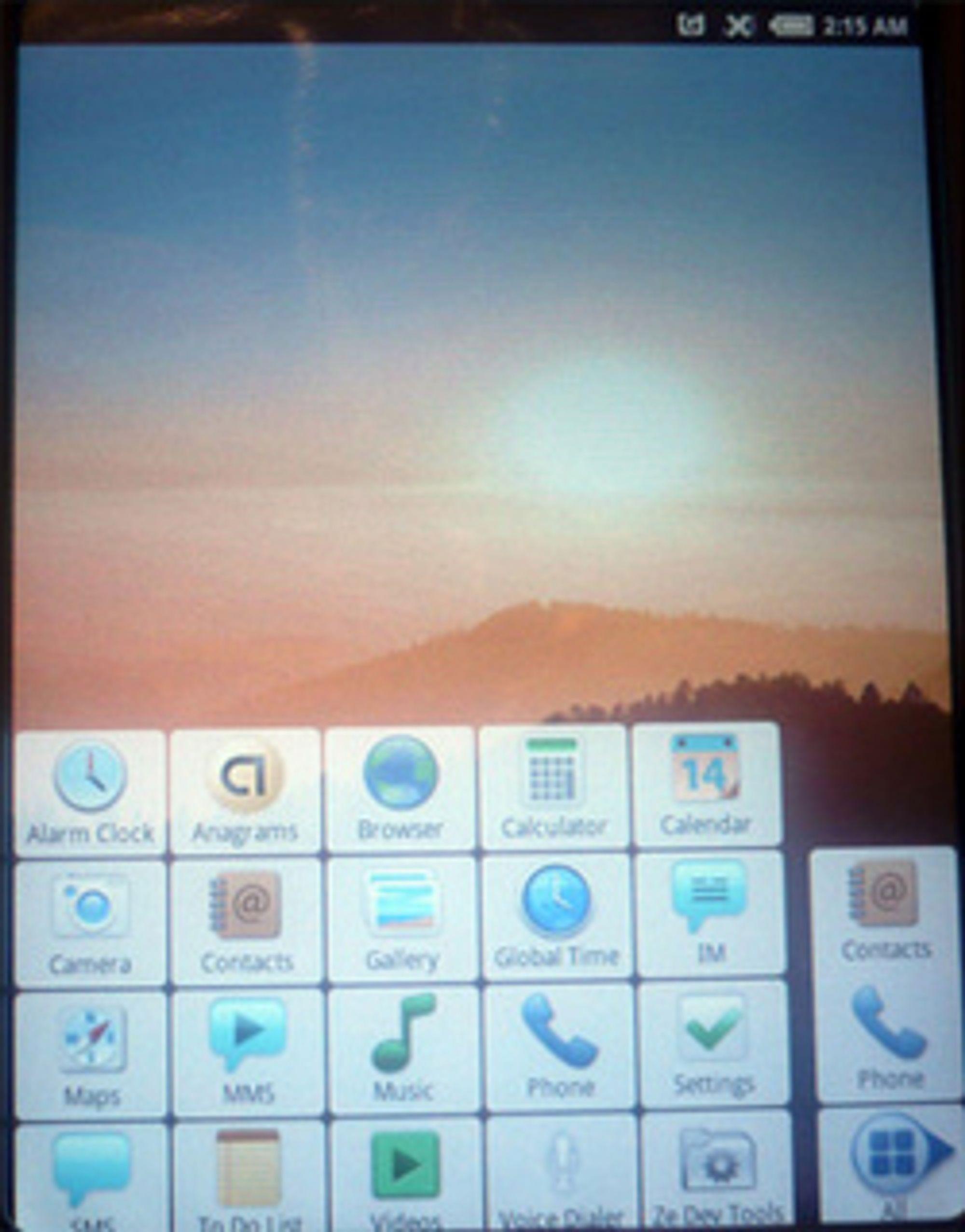 Android-sniktitt. (Foto: Einar Eriksen)
