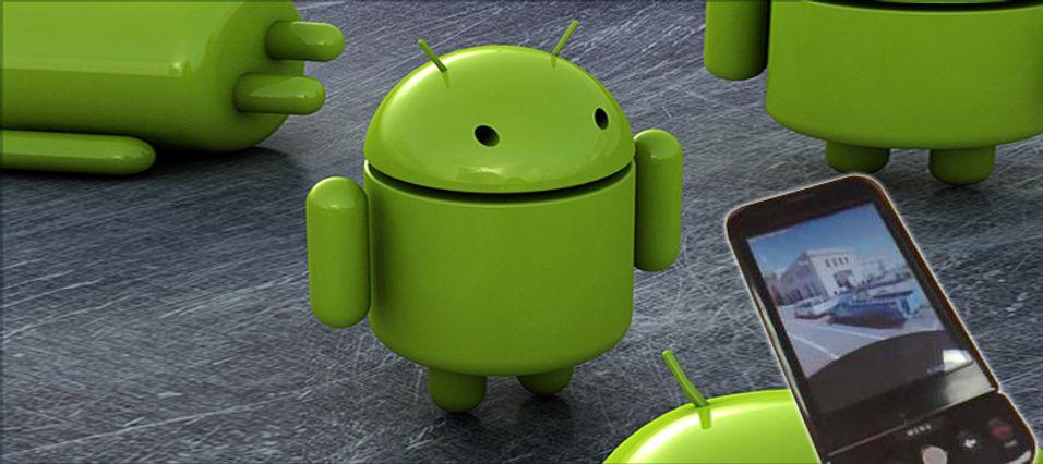 HTC Dream blir sannsynligvis først med Android