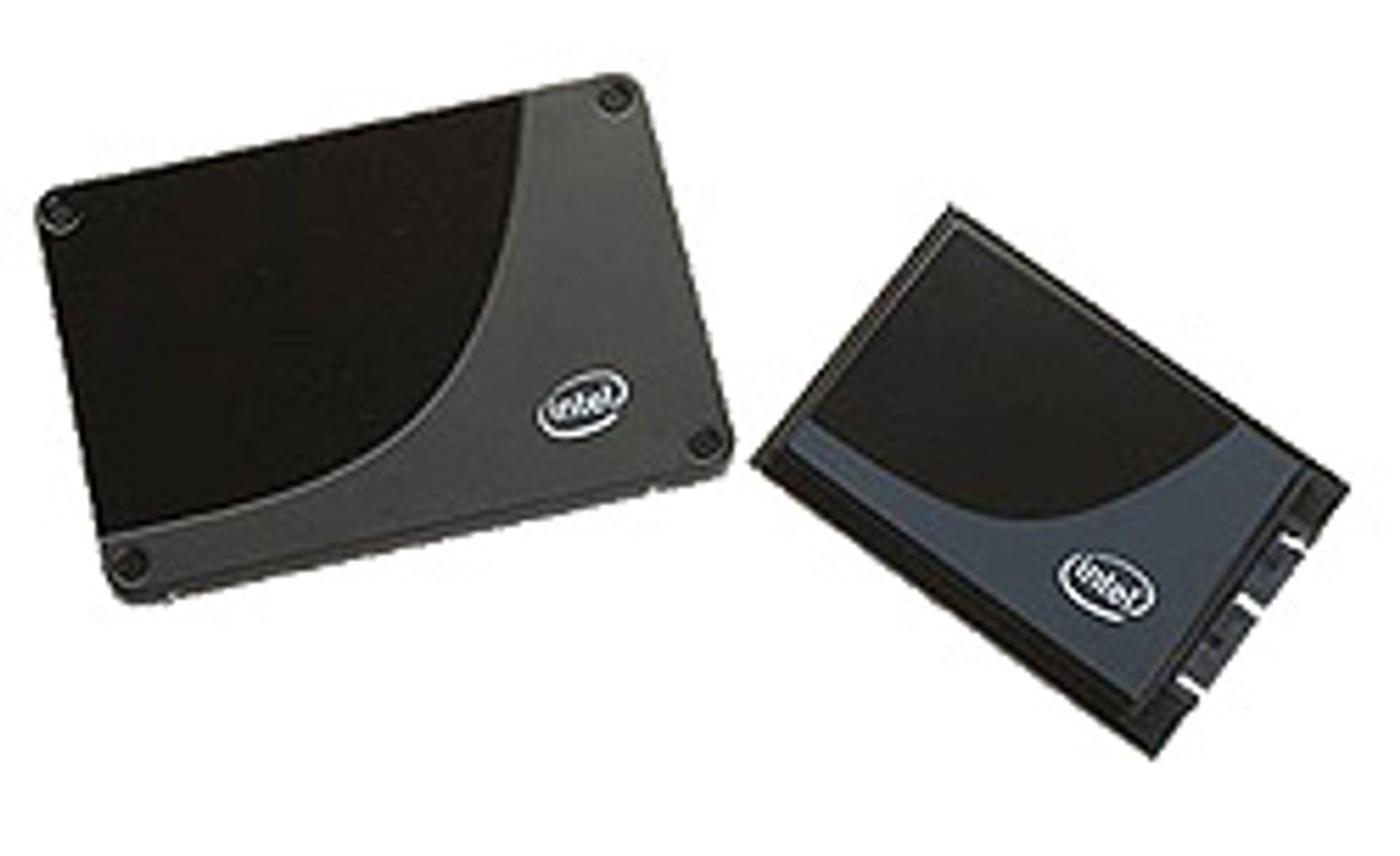 Intels kommende SSD-disker. (Foto: Intel)