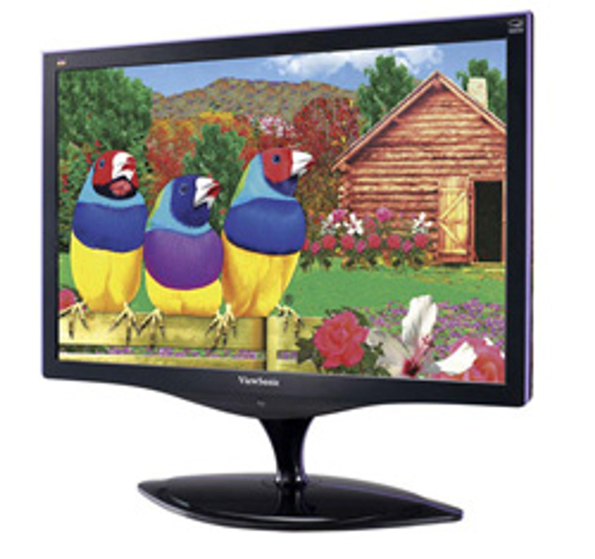 Viewsonics nye skjermer. (Foto: Viewsonic)