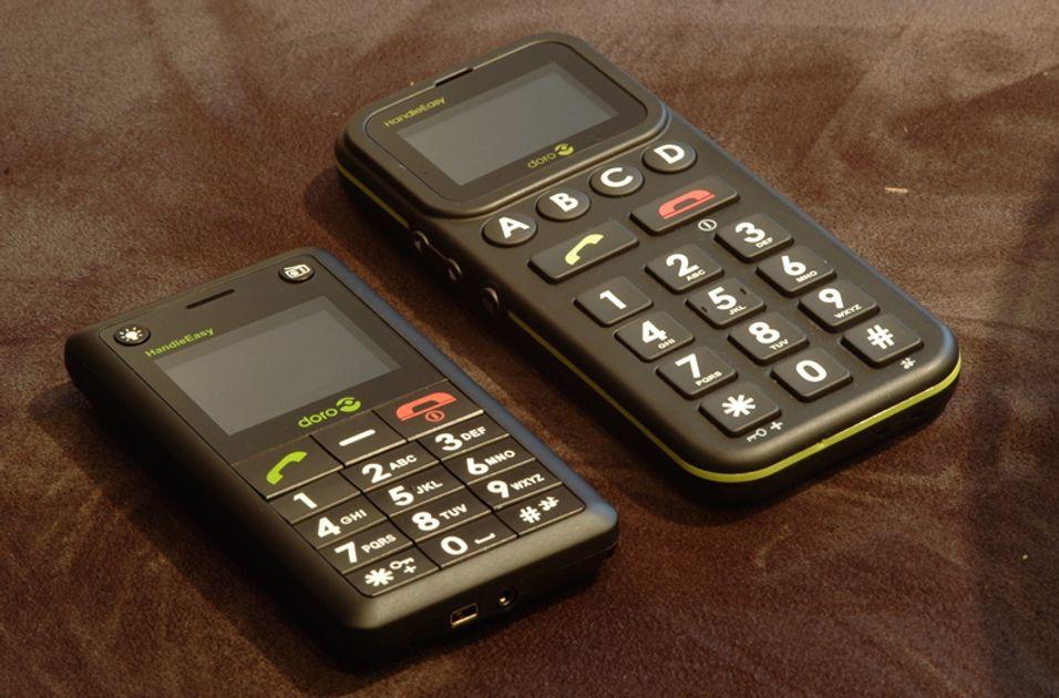Doro-telefonene passer for eldre.