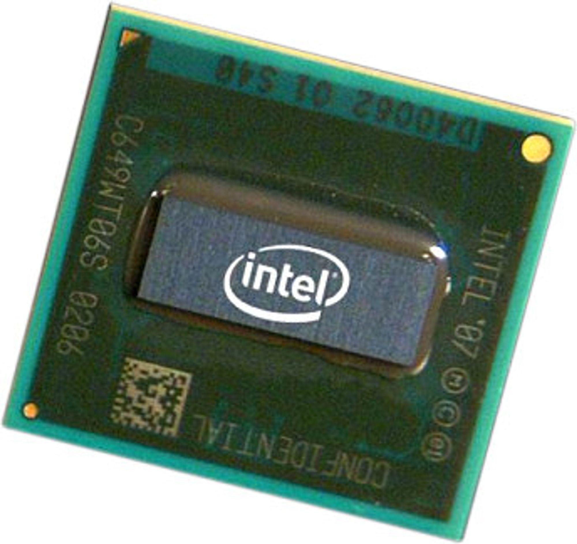 Populær kar: Intel Atom