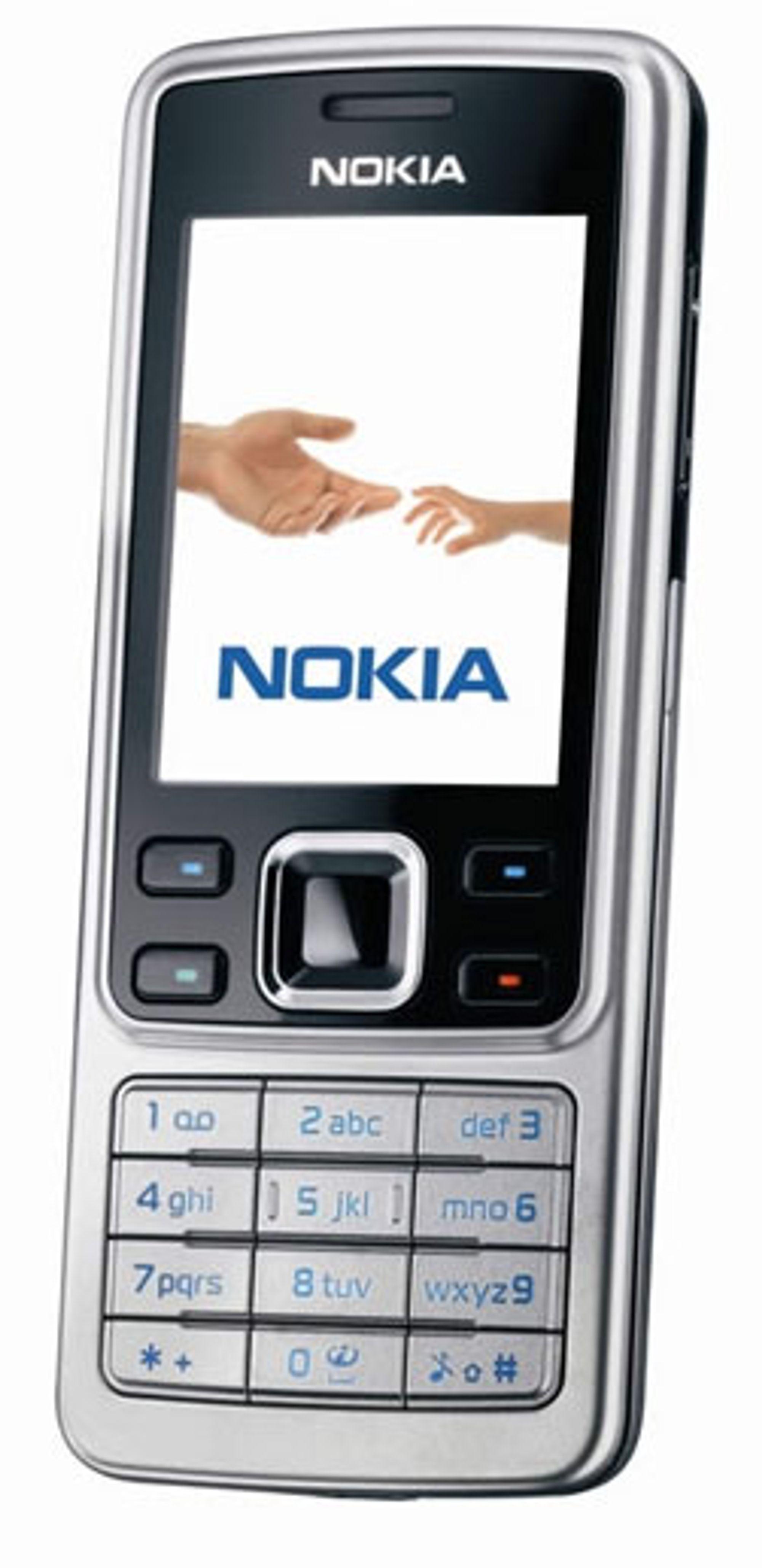 Sikkerhetshullet rammer Series 40-telefoner, som Nokia 6300.