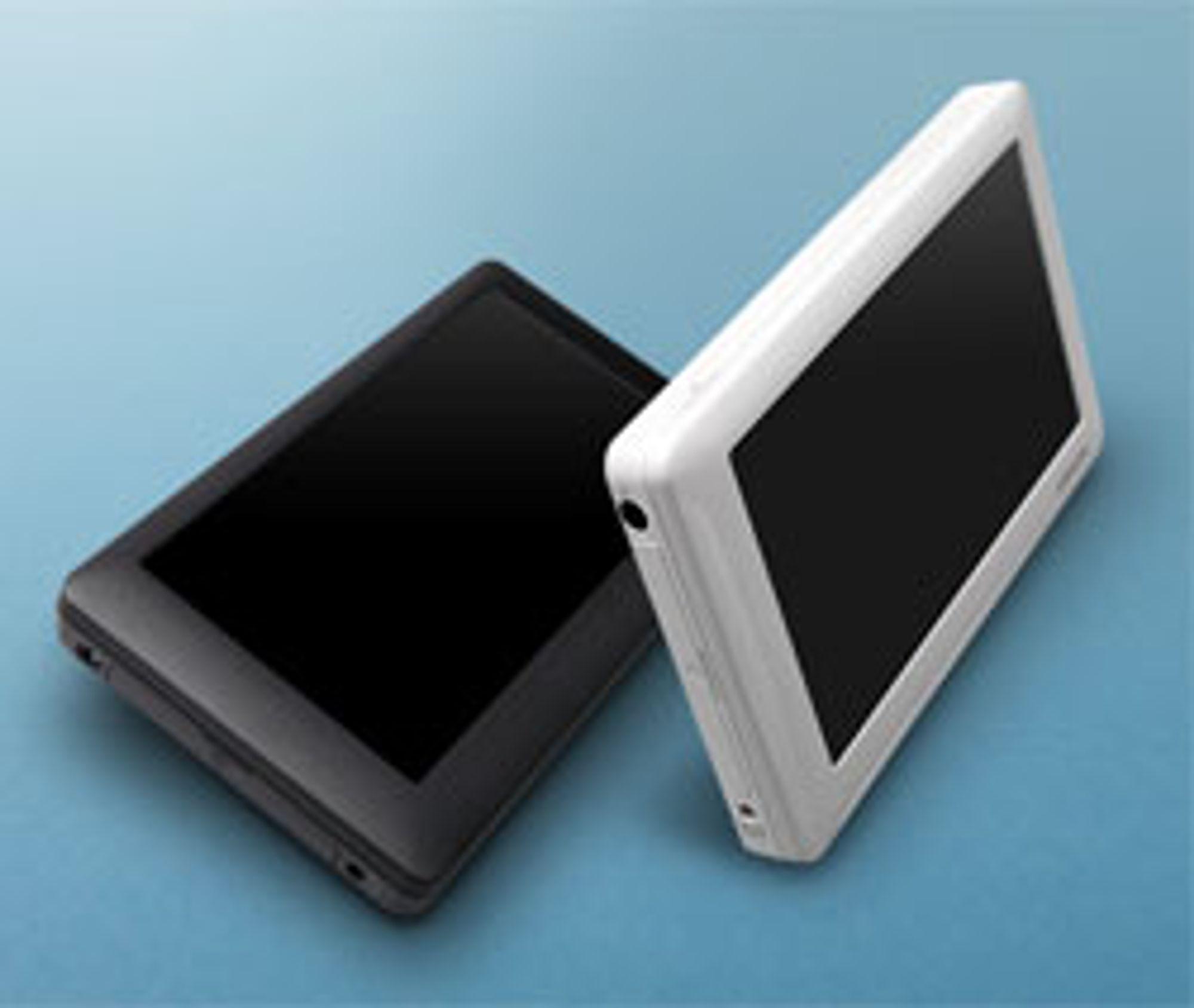 O2 har fokus på video, og en skjerm på 4,3 tommer.