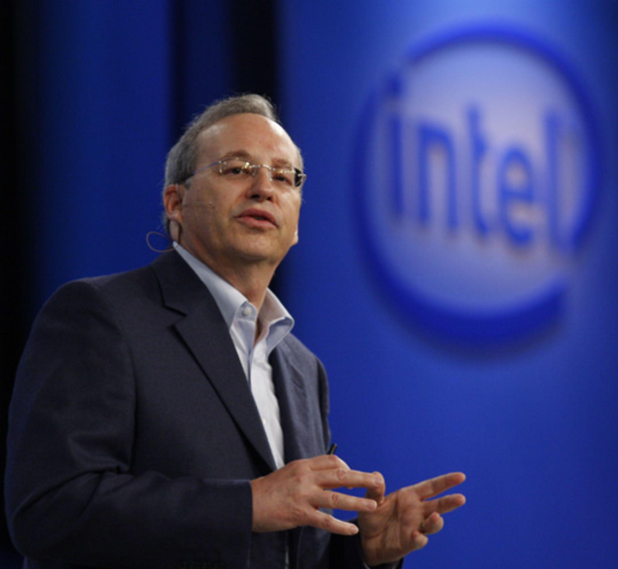 Justin Rattner hos Intel. Foto: Intel
