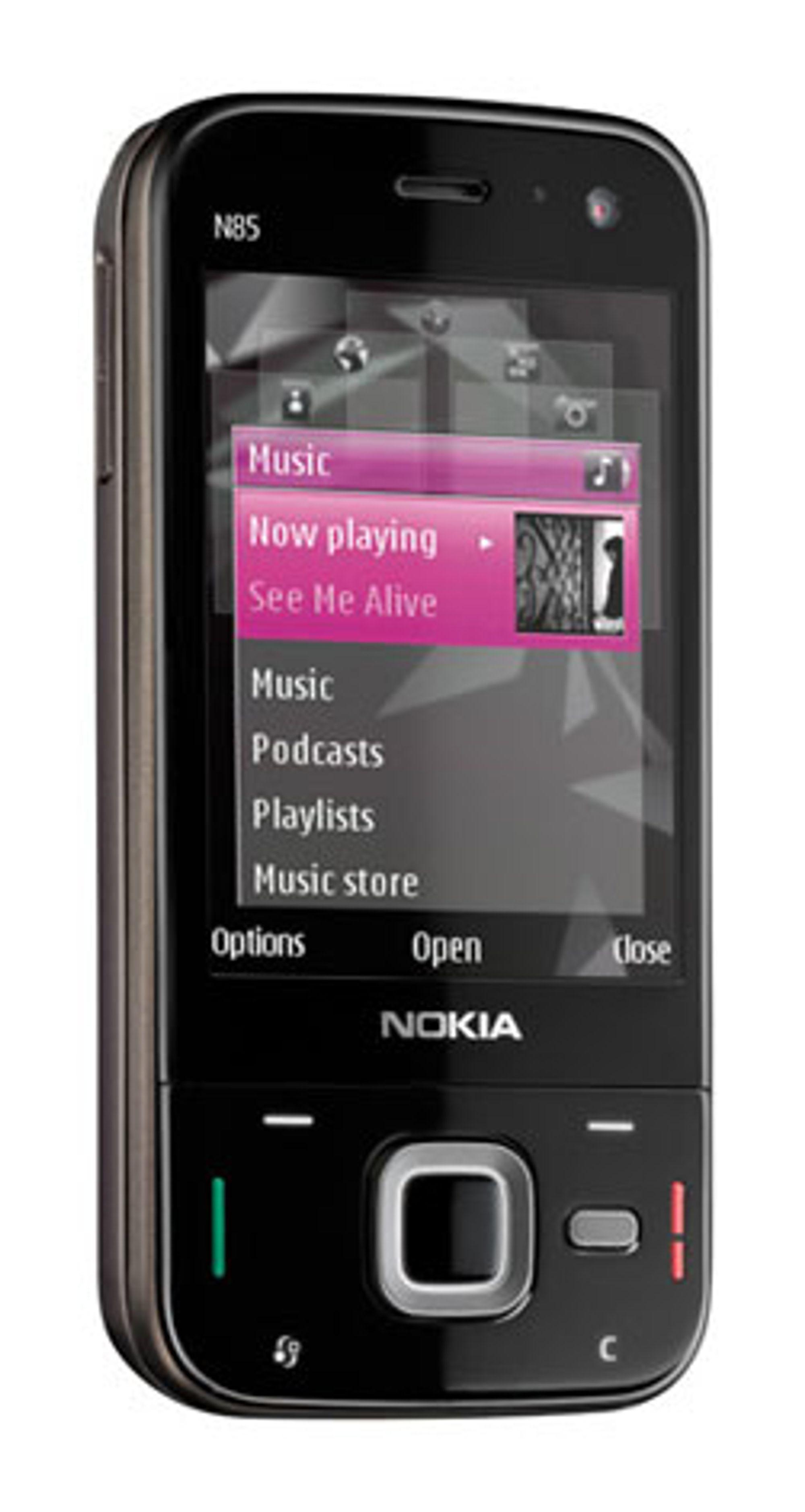 N85 har designtrekk fra både N81 og N78.