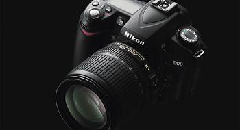 Nikon D90 – med videofunksjon